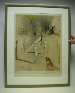 Ein Dali im passenden Farbmodellrahmen - Rahmenkunst Käser Metzingen Inh. S. Blessing